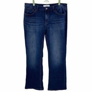 Kancan- Bootcut Dark Wash Jeans- Sz. 33